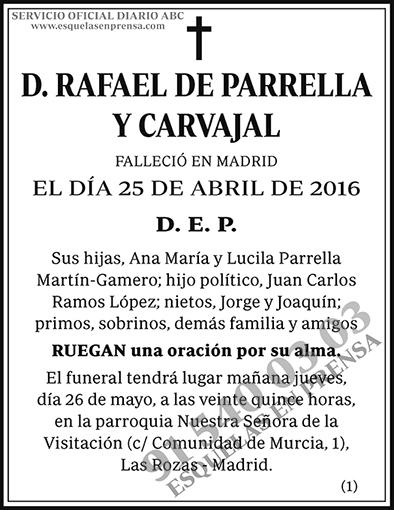 Rafael de Parrella y Carvajal